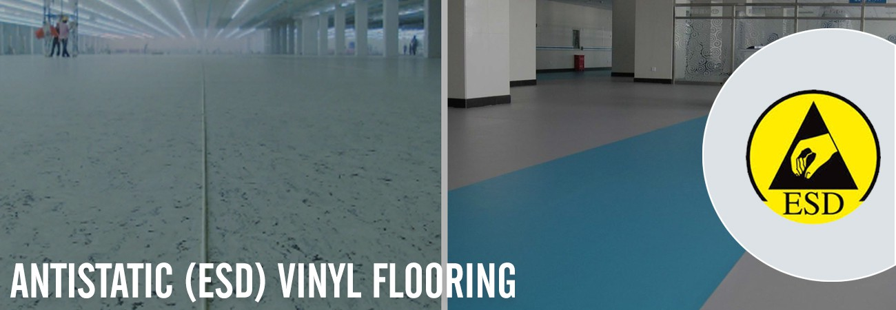 Antistatic (ESD) Vinyl Flooring