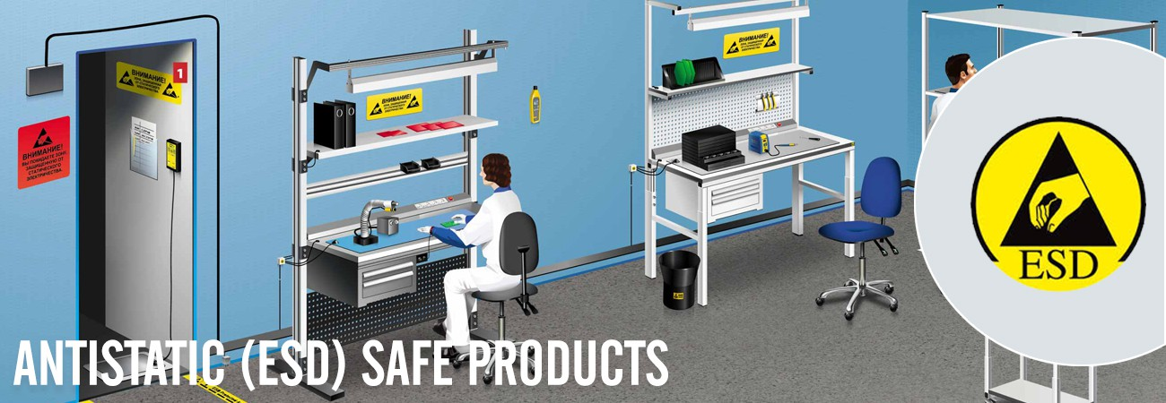 Antistatic (ESD) Safe Products