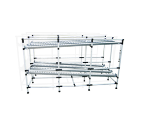 Antistatic (ESD) Pipes & Joints Storage Rack / FIFO System
