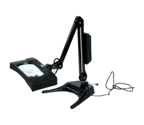 ESD Safe Flexible Arm Illuminated Magnifier Deluxe Model