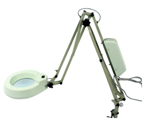 Flexible Arm Illuminated Magnifier Standard Model