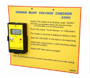 HUMAN BODY VOLTAGE CHECKER Z2055 & Z2055A