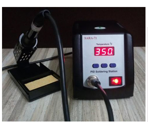 PID CONTROLLED SOLDERING STATION